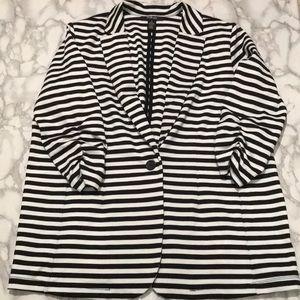 NWOT Style & Co Striped Blazer